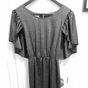Fun funky gray dress